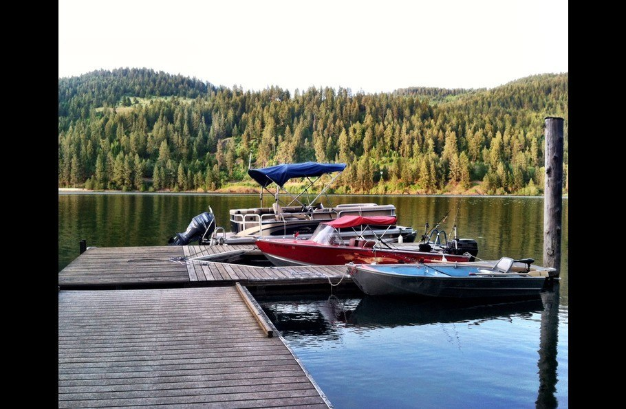 Our dock and our toys