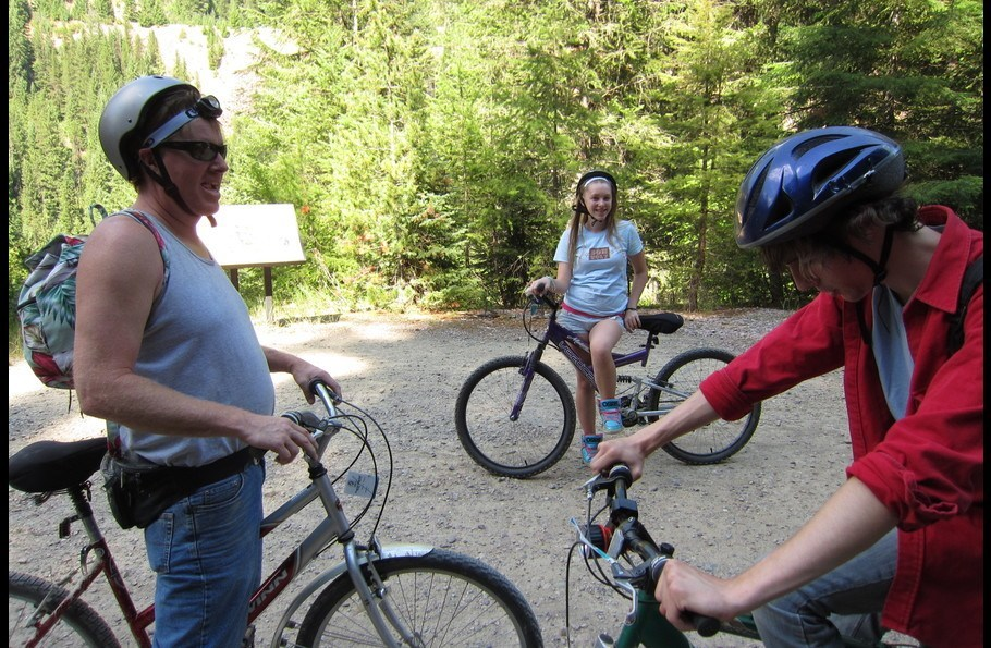 Take the family and ride the Hiawatha Trail